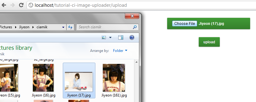 CodeIgniter Talk : Basic Image Uploader (3/4)
