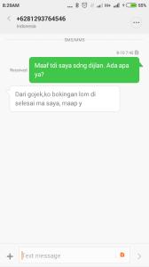 SMS Penipu